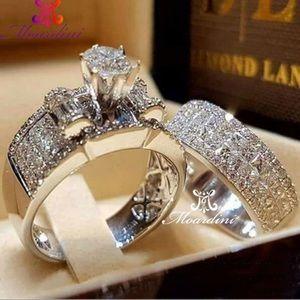 NWT 14kt White Gold Ring Set